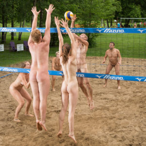 Nude beach party pictures for